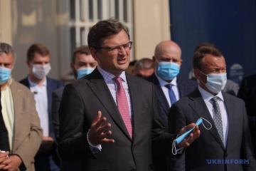 ベラルーシの「秘密の大統領就任式」を受け、ウクライナ外務省は緊急会合開催=クレーバ外相