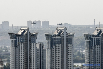 Convertiplanos de la Fuerza Aérea de EE. UU. vuelan sobre Kyiv