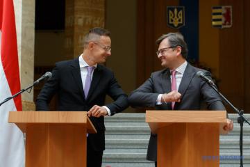 クレーバ外相、ハンガリー外相と民族マイノリティ問題を議論