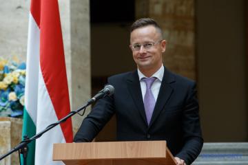 El ministro de Asuntos Exteriores de Hungría realizará una visita de trabajo a Ucrania