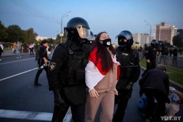 Протести в Білорусі: силовики затримали понад 200 осіб