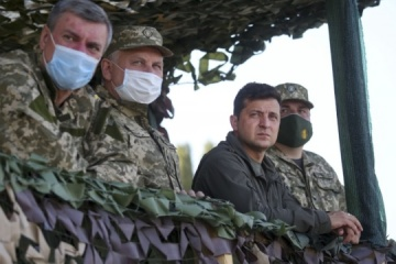President: Joint Efforts 2020 exercises show highest level of Ukrainian military