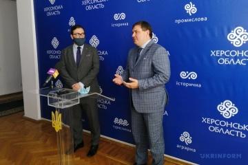 Гуманітарні проєкти Херсонщини: представництво НАТО в Україні та ОДА поглиблять співпрацю