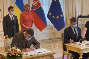 Ukraine, Slovakia sign agreement on resumption of Uzhhorod airport operation