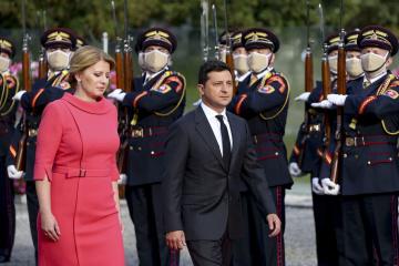 Presidenta de Eslovaquia: Hay que definir requisitos concretos para la adhesión de Ucrania a la UE