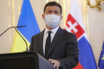 Zelensky, Slovak PM discuss cooperation in trade, transport, energy