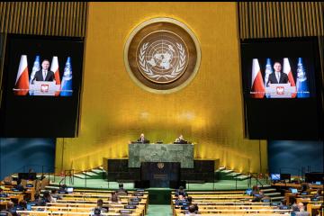Дуда в ООН закликав підтримати білоруських протестувальників