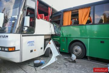 У Польщі зіткнулися два шкільні автобуси, є постраждалі