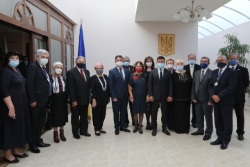 Zelensky presents state awards to representatives of Ukrainian community in Slovakia