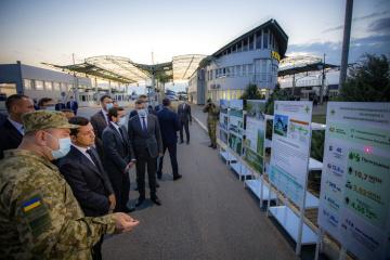 """Zelensky instruye incluir el puesto de control Úzhgorod-Vyšné Nemecké en la """"Construcción a gran escala"""""""