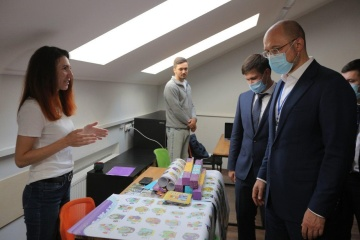 Shmyhal opens startup competition in Lviv region