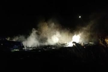 ハルキウ州空軍輸送機墜落 25名死亡、2名生存