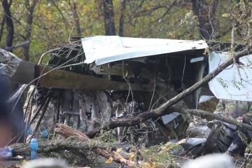 ハルキウ州空軍輸送機墜落 病院で重傷者1名死亡