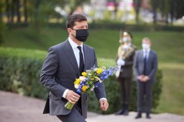 75. Jahrestag von von Babyn Jar: Präsident Selenskyj und andere Politiker gedenken Opfer des Massakers