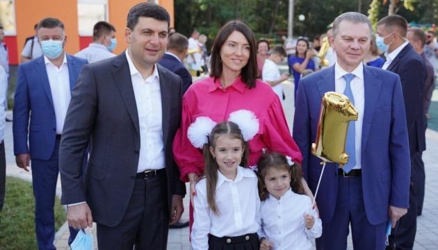 У Вінниці  відкрили нову школу в мікрорайоні Поділля