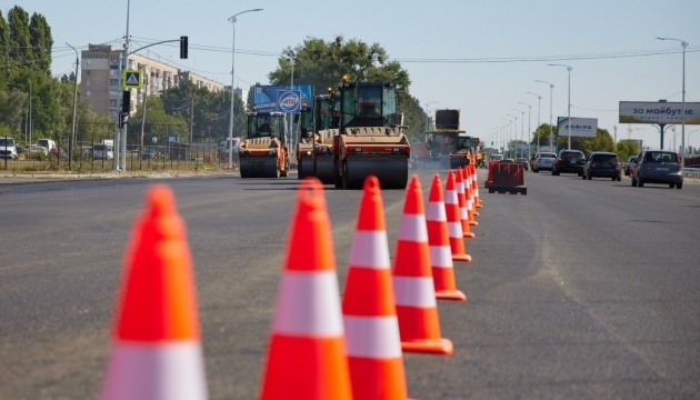 Over 300 km of roads to be built, reconstructed in Poltava region this year – Zelensky