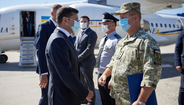 President promises to ensure operation of all airports 'that Ukraine needs' in 2-3 years