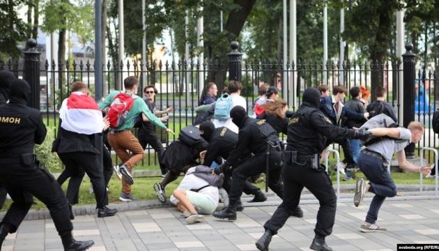 На студенческом протесте в Минске силовики задержали нескольких журналистов