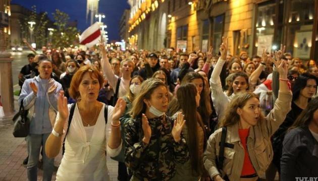 У Мінську не вщухають протести