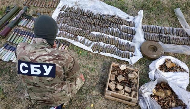 СБУ обнаружила схрон с гранатометами и артснарядами на Луганщине