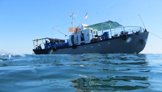 В Черном море завершили разминирование эскадренного миноносца «Фрунзе»