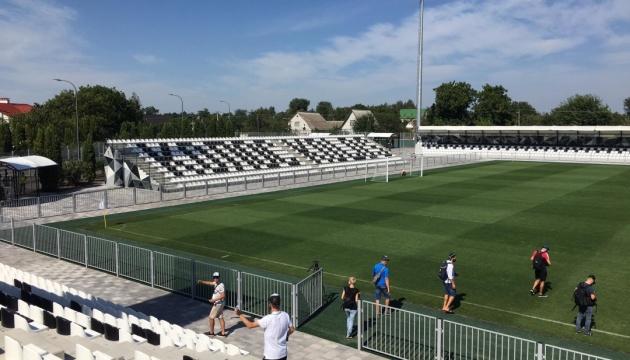 «Колос» представил обновленный стадион в Ковалевке
