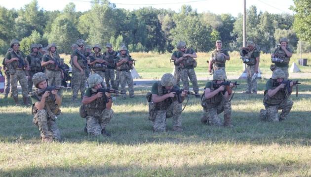 В Украине стартовали масштабные военные сборы резервистов