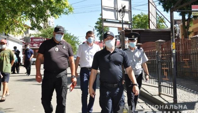 Полиция усиленно охраняет Умань в ожидании Рош Га-Шана