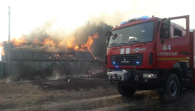 На Харьковщине пылает 500 гектаров леса, одно село полностью уничтожено пожаром