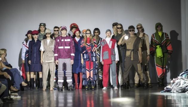 На Ukrainian Fashion Week представили одежду для столичных коммунальных служб