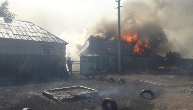 В ОП назвали вероятную причину пожаров на Харьковщине и Луганщине