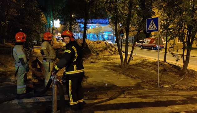 В Киеве произошел пожар на 34-м этаже новостройки — ДСНС