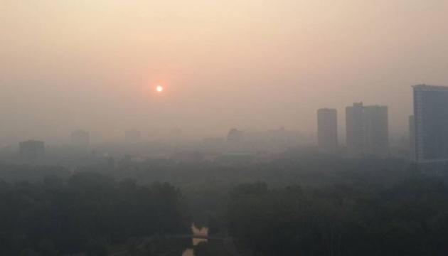 На Херсонщині частину районів накрив смог