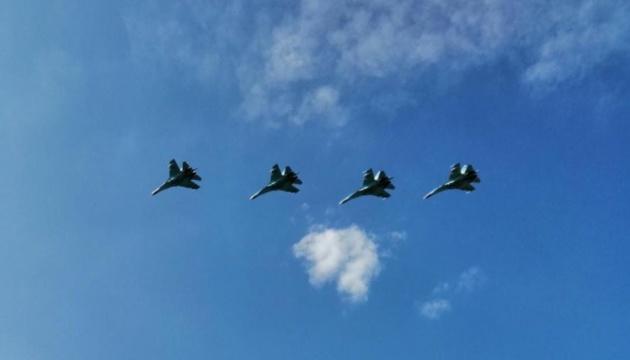 ЗСУ провели тактичні навчання з авіаційною ескадрильєю