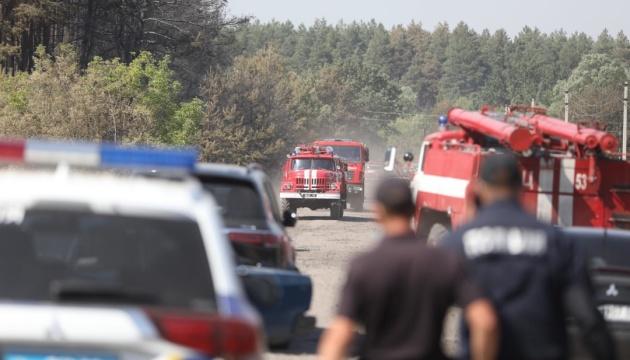 Для жителей сгоревшего села на Харьковщине собирают помощь