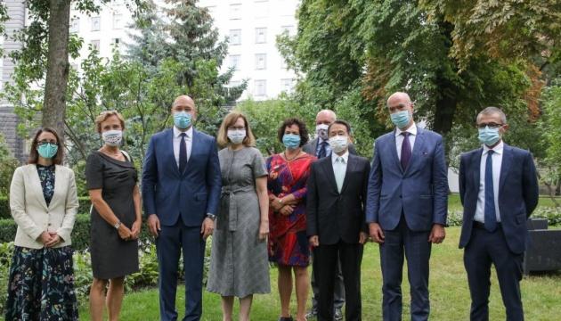 Посли країн G7 обговорили зі Шмигалем справу ПриватБанку