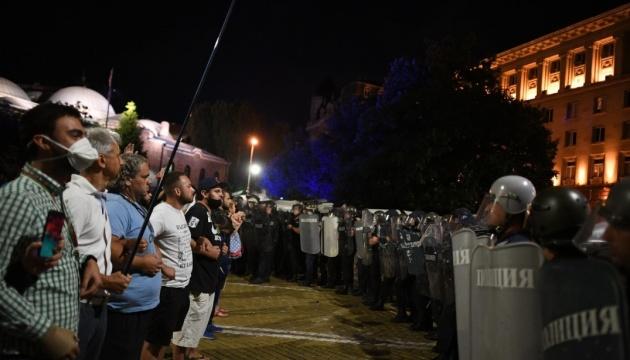 У Болгарії під час сутичок з поліцією затримали понад сотню людей