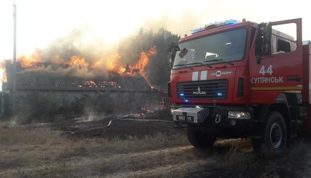 На Харьковщине из-за пожаров объявили чрезвычайную ситуацию регионального уровня