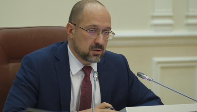 Шмигаль доручив порахувати збитки від пожеж на Луганщині та Харківщині