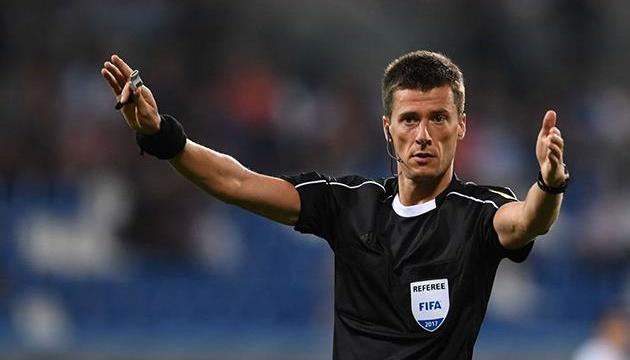 Французькі арбітри розсудять матч футболістів Іспанії та України в Лізі націй УЄФА