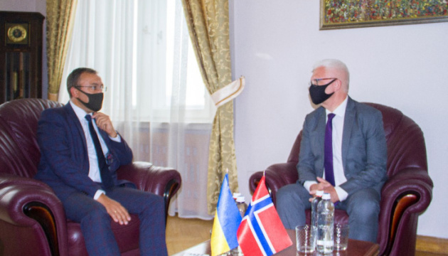 Foreign Ministry counts on Norway's active support for Ukraine's initiatives in UN
