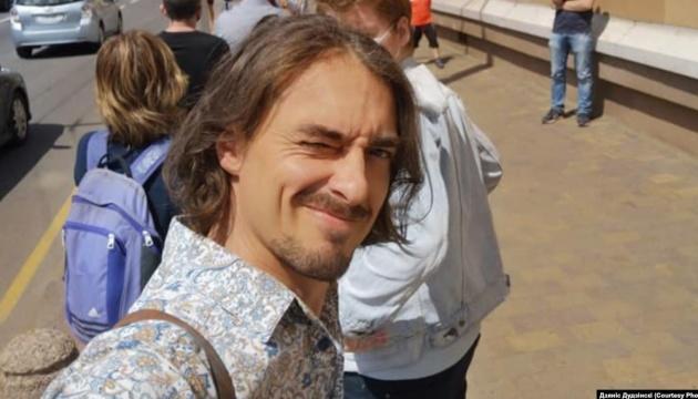 Білоруського телеведучого арештували за участь у протесті