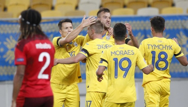 UEFA Ligue des nations : la victoire de l'Ukraine face à la Suisse