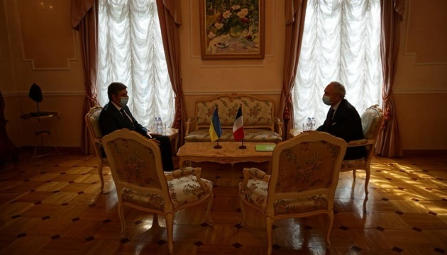 Ukraine's new ambassador to France takes office