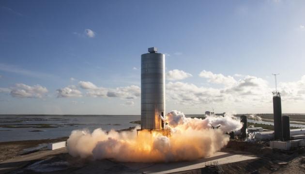 SpaceX провела успешное испытание прототипа корабля для полетов на Марс