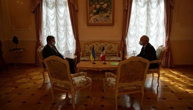 Nuevo embajador de Ucrania en Francia asume el cargo