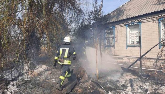 Пожар в Попаснянском районе полностью потушили