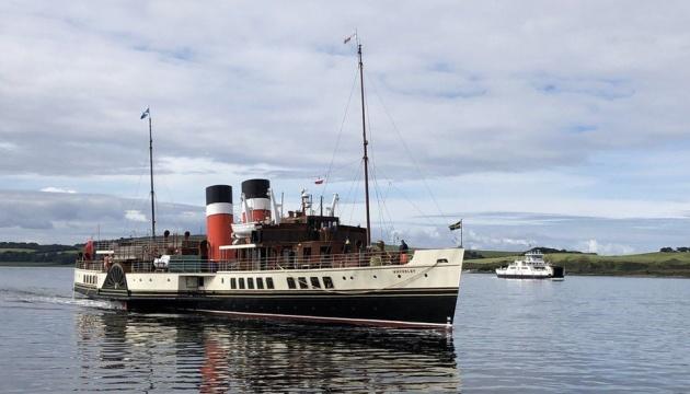 У Шотландії старовинний пароплав врізався у причал, 17 постраждалих