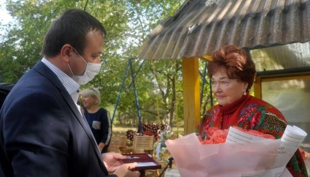 На Вінниччині з 85-річчям привітали акторку Людмилу Алфімову