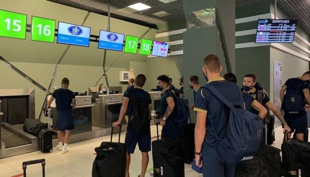 Молодіжна збірна України з футболу вирушила до Фінляндії на матч кваліфікації Євро-2021